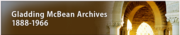 Gladding McBean Archives, 1888-1966