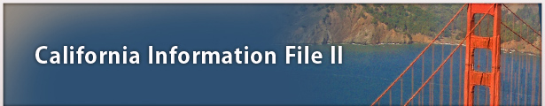 California Information File II